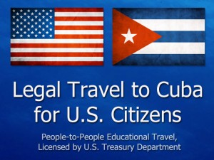 Legal Travel to Cuba