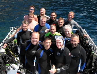 UnderseaX Divers on Saba